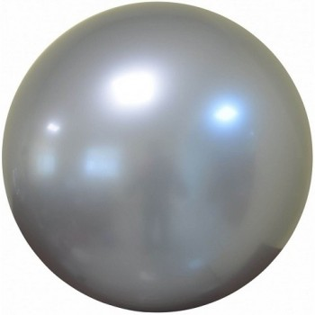 Palloncino Deco Bubble Argento Chrome 81 cm.