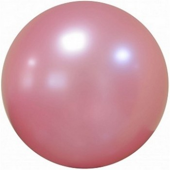 Palloncino Deco Bubble Rosa Antico Chrome 60 cm.
