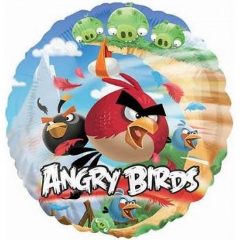Palloncino Mylar 45 cm. Angry Birds