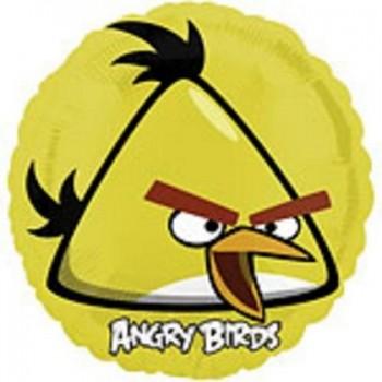 Palloncino Mylar 45 cm. Angry Birds Yellow Bird