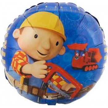Palloncino Mylar 45 cm. Bob The Builder Working