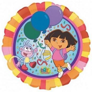 Palloncino Mylar 45 cm. Dora Balloons