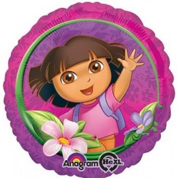 Palloncino Mylar 45 cm. Dora the Explorer