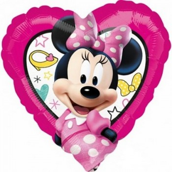 Palloncino Mylar 45 cm. Minnie Happy Helpers