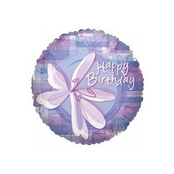 Palloncino Mylar Mini Shape 22 cm. Birthday Squares