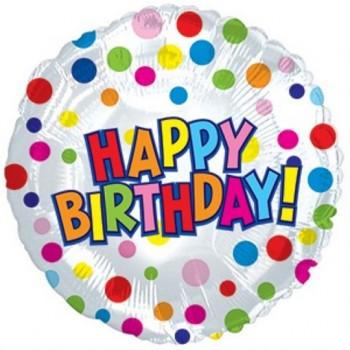Palloncino Mylar Jumbo 78 cm. Happy Birthday Treat
