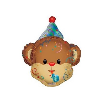Palloncino Mylar Mini Shape 35 cm. Party Animal