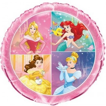 Palloncino Mylar 45 cm. Princess Dream Big