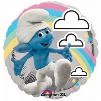 Palloncino Mylar 45 cm. Smurfs Movie