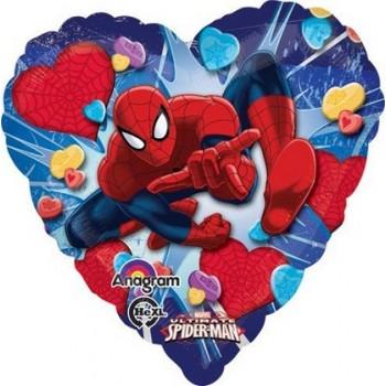 Palloncino Mylar 45 cm. Spider-Man Love