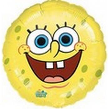 Palloncino Mylar 45 cm. Spongebob Smiles Face Mylar