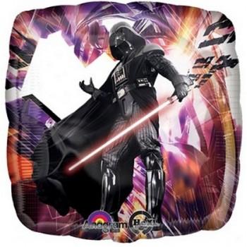 Palloncino Mylar 45 cm. Star Wars Darth Vader Square