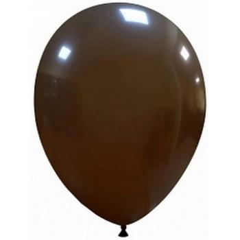 Palloncino in Lattice Rotondo 30 cm. Marrone