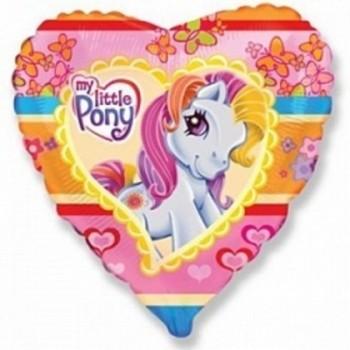 Palloncino Mylar 45 cm. My Little Pony Heart