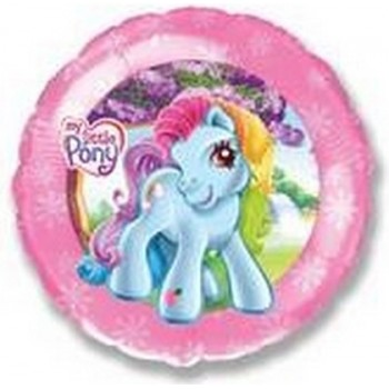 Palloncino Mylar 45 cm. My Little Pony Pink Boarder