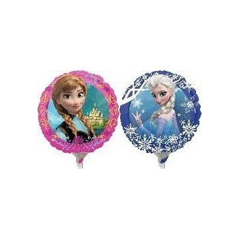 Palloncino Mylar Mini Shape 22 cm. Frozen Anna and Elsa