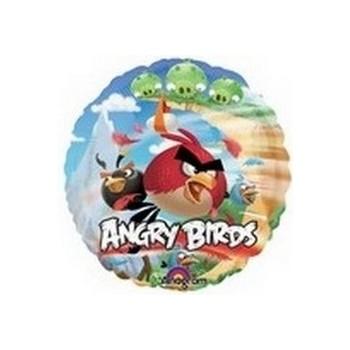 Palloncino Mylar Mini Shape Angry Birds - 22 cm.