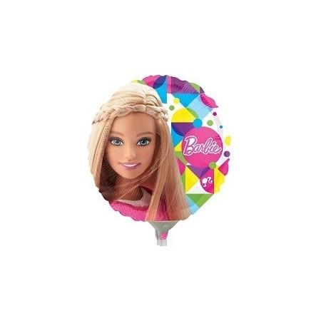 Palloncino Mylar Mini Shape Barbie Sparkle - 22 cm.