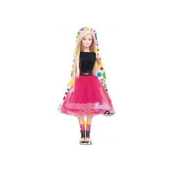 Palloncino Mylar Mini Shape Barbie Sparkle - 35 cm.