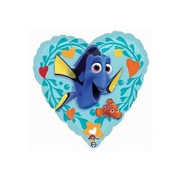 Palloncino Mylar Mini Shape Dory Finding Love - 23 cm.