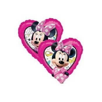 Palloncino Mylar Mini Shape Minnie Happy Helpers - 27 cm.