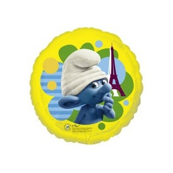 Palloncino Mylar Mini Shape Smurfs 35 cm.