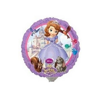 Palloncino Mylar Mini Shape Sofia The First - 22 cm.