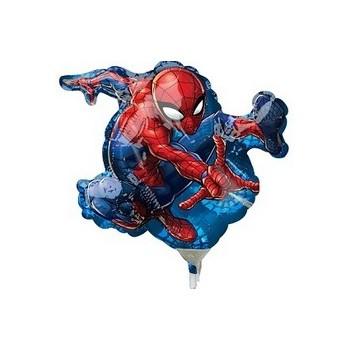 Palloncino Mylar Mini Shape Spider-Man - 23 cm.
