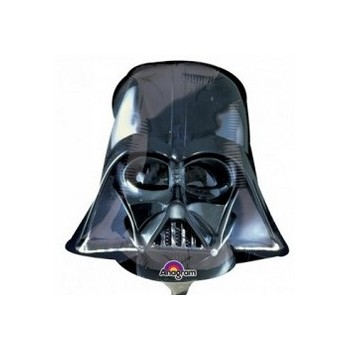 Palloncino Mylar Mini Shape Star Wars Darth Vader Helmet - 35 cm.