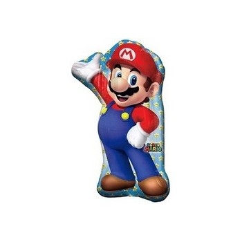 Palloncino Mylar Mini Shape Super Mario Bros - 35 cm.