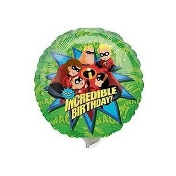 Palloncino Mylar Mini Shape The Incredibles - 22 cm.