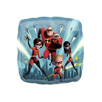 Palloncino Mylar Mini Shape The Incredibles 2 - 22 cm.