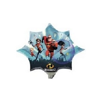 Palloncino Mylar Mini Shape The Incredibles 2 - 35 cm.