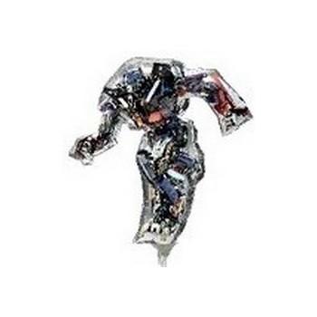 Palloncino Mylar Mini Shape Transformers Optimus Prime - 35 cm.