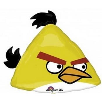 Palloncino Mylar Super Shape 58 cm. Angry Birds Yellow Bird