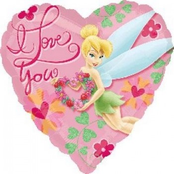 Palloncino Mylar 45 cm. Tinkerbell I Love You
