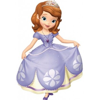 Palloncino Mylar Super Shape 106 cm. Disney Princess Sofia The First