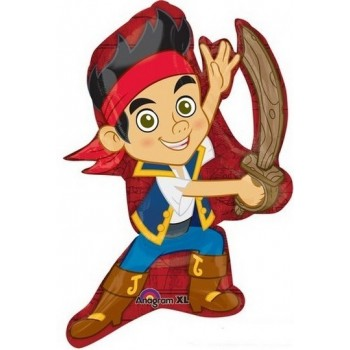 Palloncino Mylar Super Shape 78 cm. Jake And The Never Land Pirates