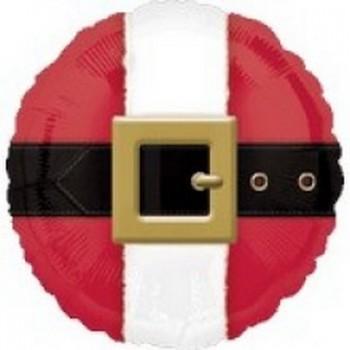 Palloncino Mylar 45 cm. Belly / Belt of Jolly Santa Claus