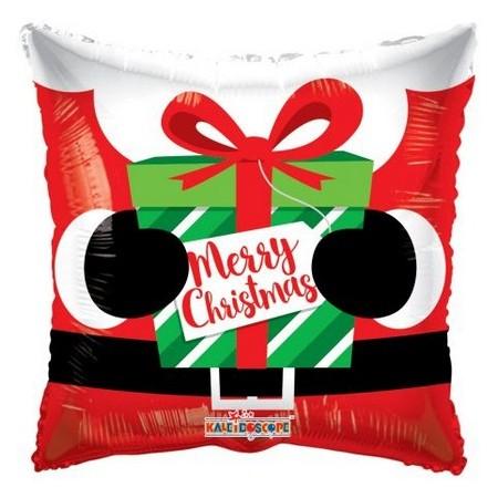 Palloncino Mylar 45 cm. Santa's Present