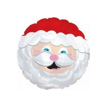 Palloncino Mylar Mini Shape 22 cm. Smiling Santa