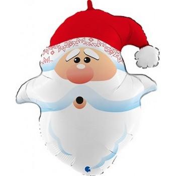 Palloncino Mylar Super Shape 66 cm. Santa Claus