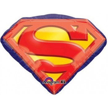 Palloncino Mylar Super Shape 66 cm. Superman Emblem