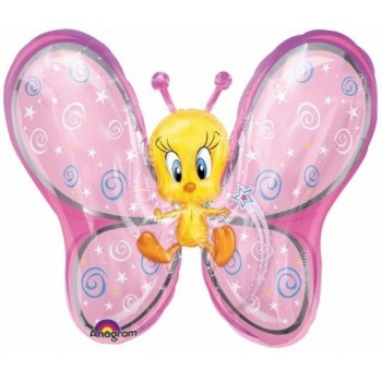 Palloncino Mylar Super Shape 68 cm. Looney Tunes Tweety Fairy