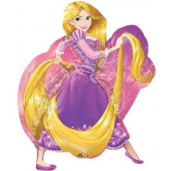 Palloncino Mylar Super Shape 78 cm. Rapunzel