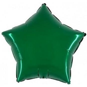 Palloncino Mylar 45 cm. Stella Verde Scuro