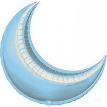 Palloncino Mylar 66 cm. Luna Azzurro