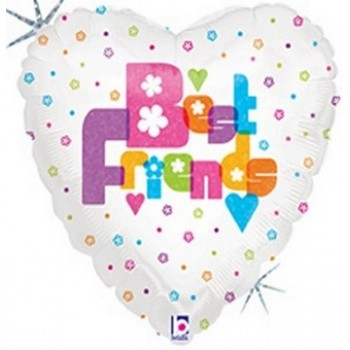 Palloncino Mylar 45 cm. Best Friends
