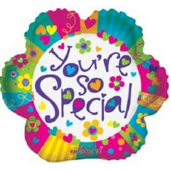 Palloncino Mylar 45 cm. You're So Special Flower