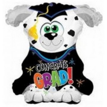 Palloncino Mylar 53 cm. Big Dog Grad